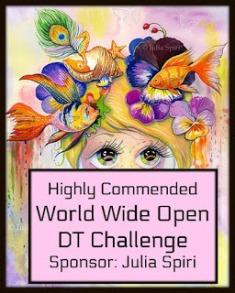 Highly Commended Winner Julia Spiri